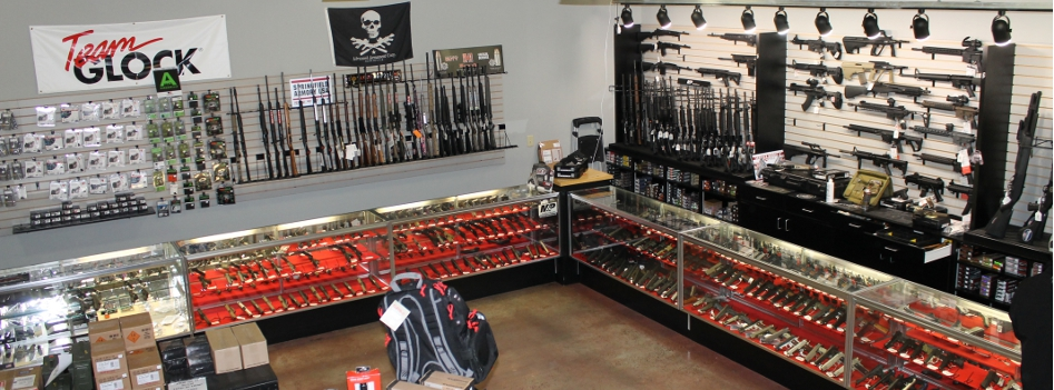 We have a large handgun selection