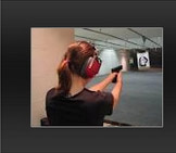 Woman targe shooter